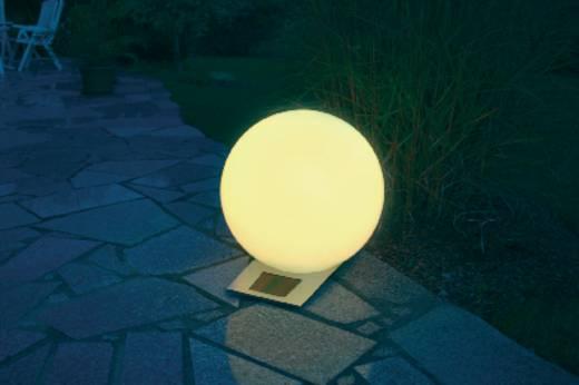 Solar-Dekoleuchte Kugel LED RGB Esotec Trendy 30 cm 106042 Weiß