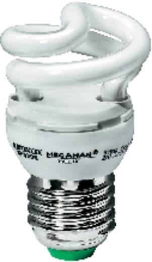 Energiesparlampe 76 mm Megaman 230 V E27 5 W = 25 W Tageslicht-Weiß EEK: A Spiralform Inhalt 1 St.