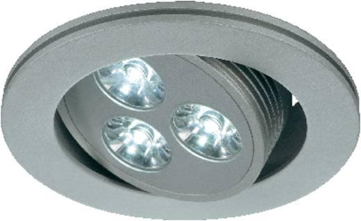 SLV Triton 3 111852 LED-Einbauleuchte 3 W Warm-Weiß Silber