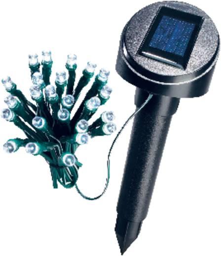 Solar-Lichterkette Außen solarbetrieben 24 LED Weiß Beleuchtete Länge: 5 m Esotec 102154