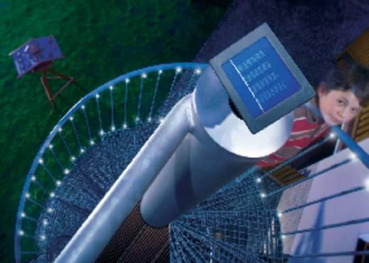 Esotec 102156 Solar-Lichterkette Außen solarbetrieben 48 LED Weiß Beleuchtete Länge: 10 m