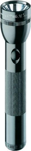 LED Taschenlampe MAG LED Technology 2 D-Cell batteriebetrieben 675 g Schwarz