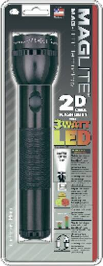LED Taschenlampe MAG LED Technology 2-D-Cell batteriebetrieben 675 g Schwarz