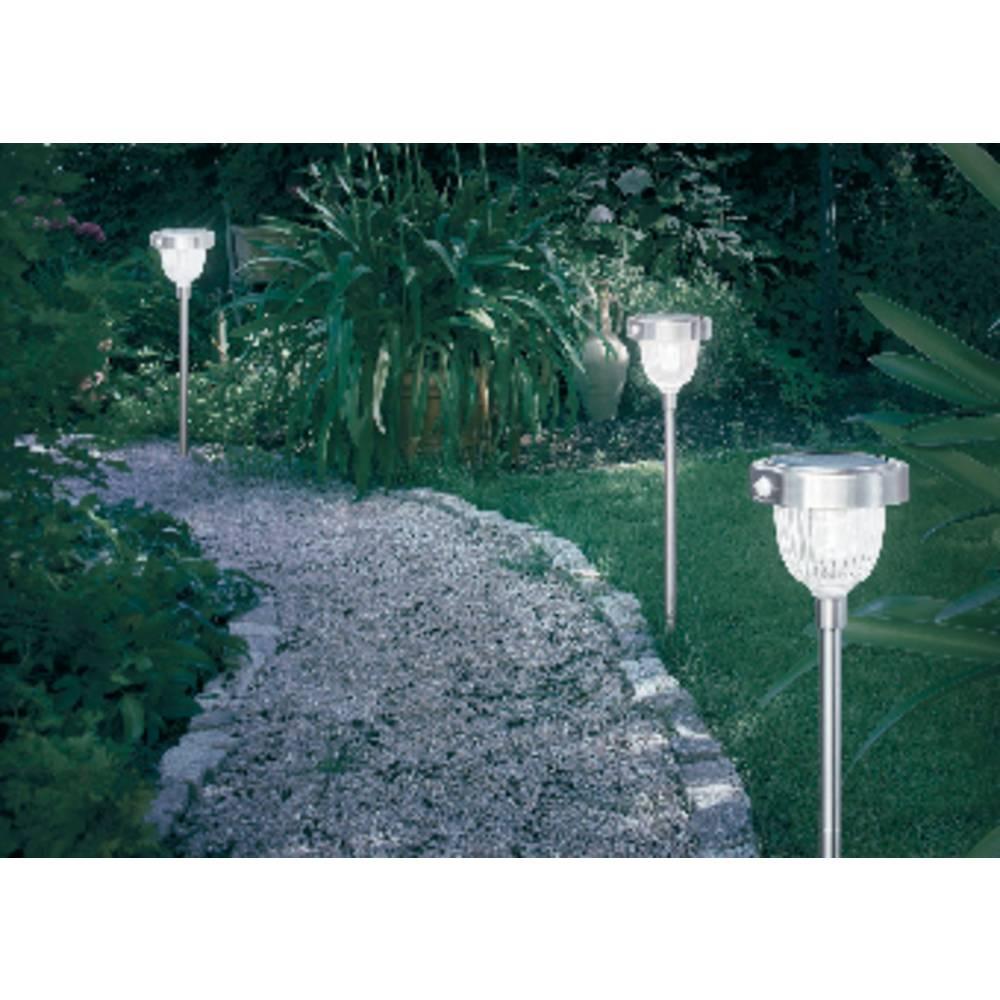 Lampe solaire de jardin avec détecteur de mouvements Esotec Asinara ...