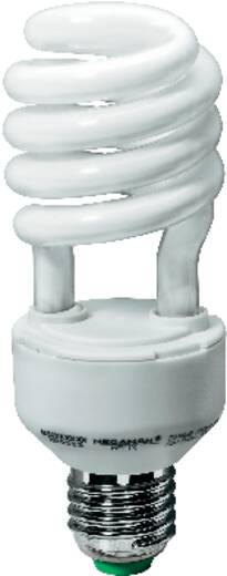 Energiesparlampe 138 mm Megaman 230 V E27 23 W = 99 W Tageslicht-Weiß EEK: A Spiralform Inhalt 1 St.