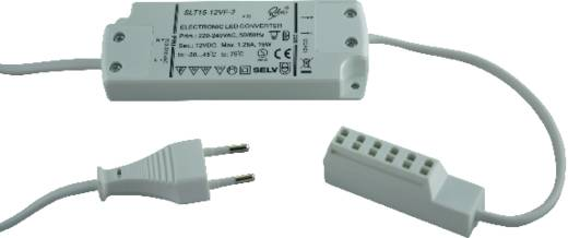 LED-Trafo Konstantspannung SLT15-12V 1 bis 15 W 12 V/DC