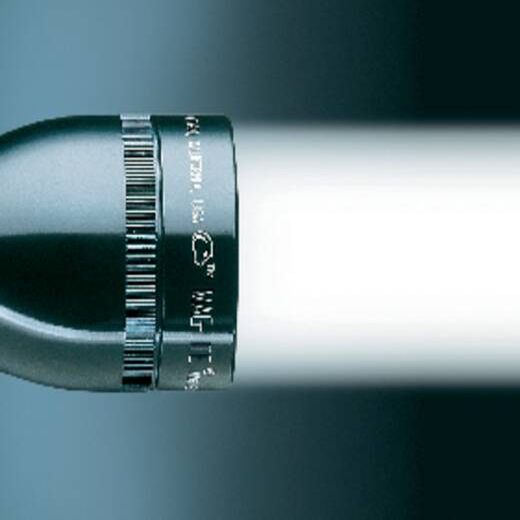 LED Taschenlampe MAG LED Technology Mini 2AA batteriebetrieben 118 g Blau
