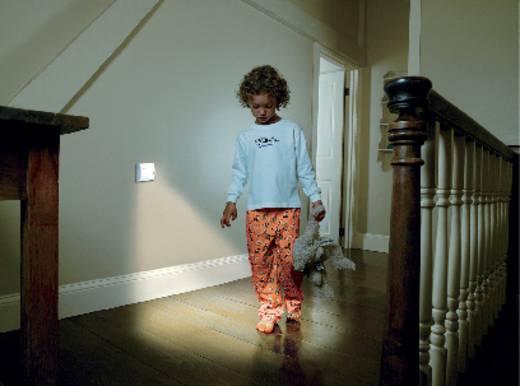 OSRAM Nightlux 4008321985743 Nachtlicht mit Bewegungsmelder Rechteckig LED Weiß Silber
