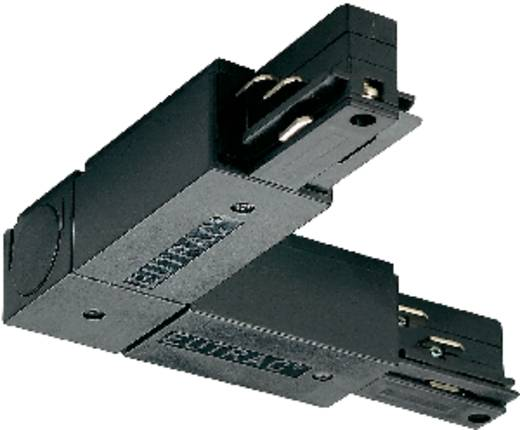 Hochvolt-Schienensystem-Komponente Eckverbinder Eutrac L-koppelstuk 145670 Schwarz