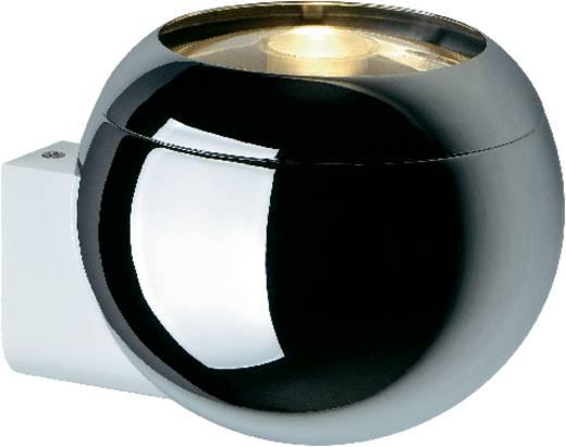 Wandleuchte GU10 75 W Halogen SLV Light Eye Ball 149031 Chrom, Weiß