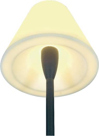 Außenstandleuchte Energiesparlampe E27 24 W SLV Adegan 228965 Anthrazit, Weiß