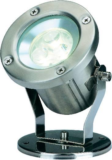 LED-Außenstrahler LED 3 W Warm-Weiß SLV Nautilus 230802 Edelstahl