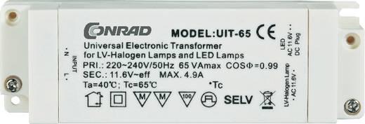 Halogen Transformator 575557 12 V 65 W (max) dimmbar mit Phasenabschnittdimmer