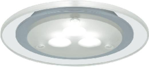 LED-Einbauleuchte 3er Set 9 W Warm-Weiß Paulmann 93543 Chrom (matt)