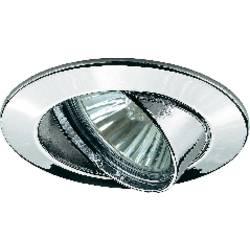 Zabudovateľný krúžok - halogénová žiarovka Paulmann Premium Line 98943 GU10, 50 W, chróm
