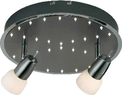 Deckenstrahler Energiesparlampe, LED GU10 19.92 W Paul Neuhaus Etana 6762-55 Stahl