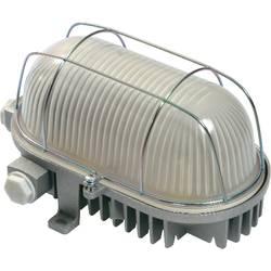 Image of as - Schwabe LED-Feuchtraumleuchte LED LED fest eingebaut 12 W Kalt-Weiß Grau