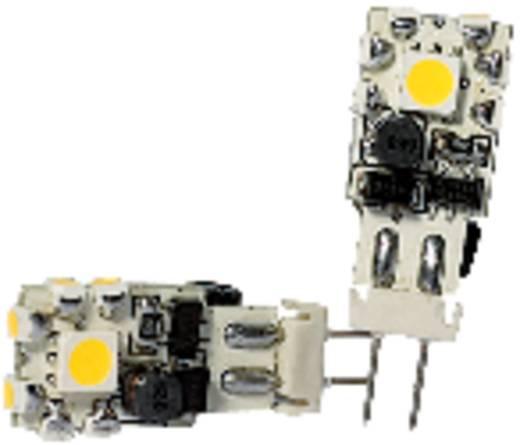 LED (einfarbig) GU4 Stiftsockel 1.5 W = 10 W Kaltweiß EEK: n.rel. ledxon 1 St.