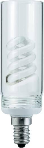 Energiesparlampe 123 mm Paulmann 230 V E14 7 W = 7 W Warm-Weiß EEK: A Spiralform Inhalt 1 St.