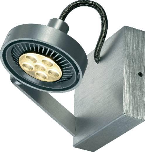 wandstrahler gu10 75 w led slv kalu ii single 147706 aluminium geb rstet kaufen. Black Bedroom Furniture Sets. Home Design Ideas