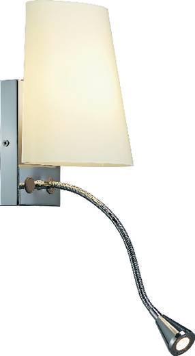 Wandleuchte G9 43 W Halogen SLV Coupa FlexLed 149452 Silber-Grau, Weiß