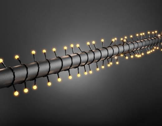 Konstsmide 3691-007 Micro-Lichterkette Außen EEK: A (A++ - E) netzbetrieben 80 LED Gelb Beleuchtete Länge: 8.32 m