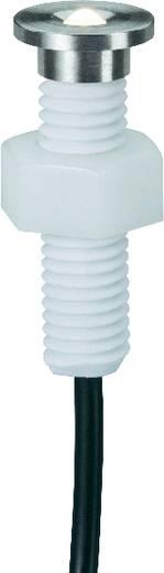 LED-Außeneinbauleuchte-Basisset 5er Set 0.8 W Warm-Weiß Paulmann 93754 Satin, Chrom