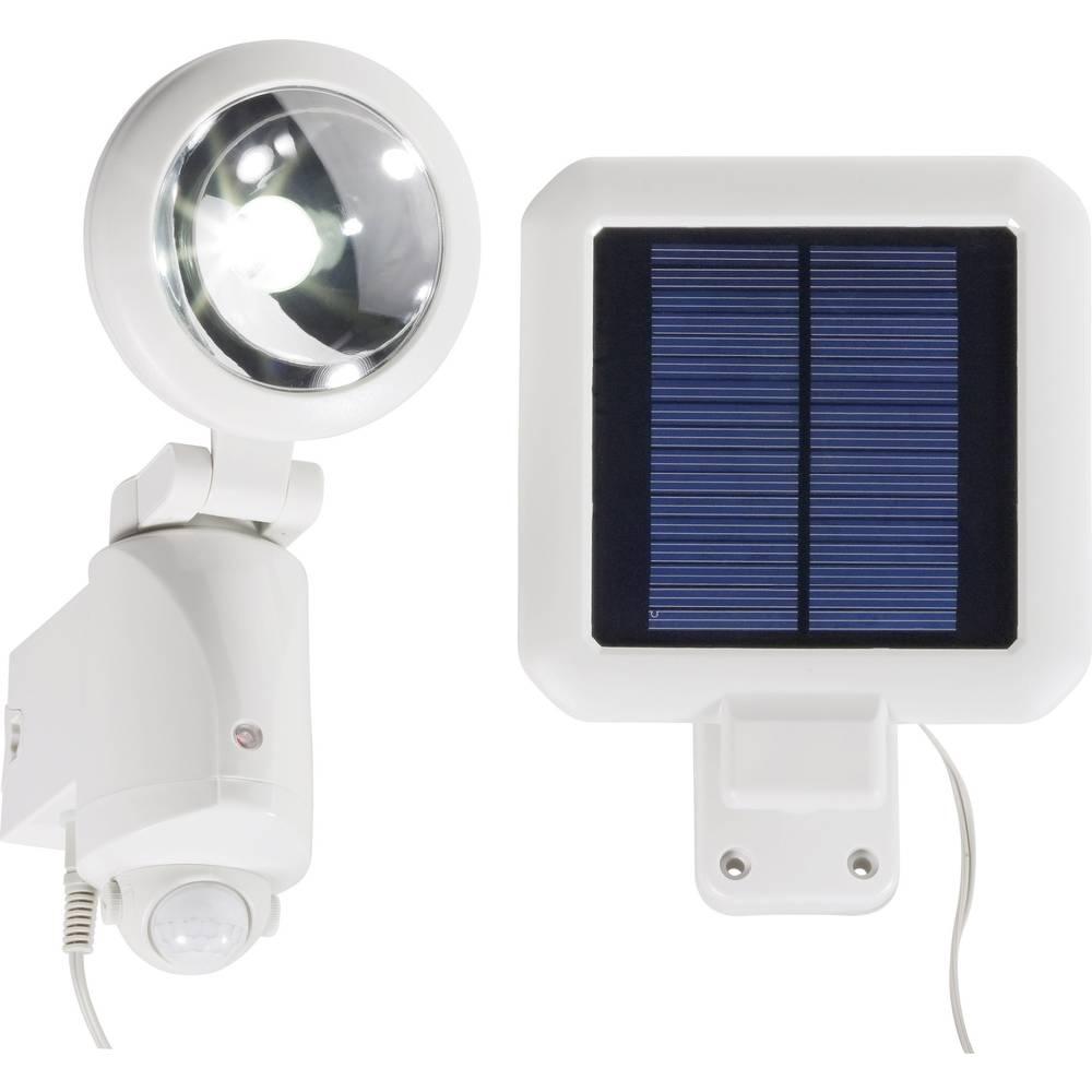 spot solaire avec d tecteur de mouvements ampoule led 3 w blanc froid blanc sur le site internet. Black Bedroom Furniture Sets. Home Design Ideas