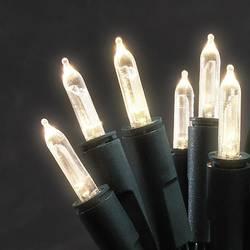 LED mini světlelná reťaz Konstsmide vnútorné 6304-100, 230 V, teplá biela