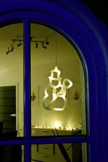 fenster dekoration schneemann warm wei led konstsmide. Black Bedroom Furniture Sets. Home Design Ideas