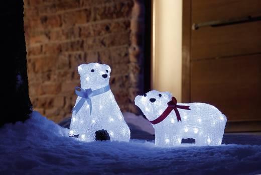 Konstsmide 6123-203 Acryl-Figur EEK: A (A++ - E) Eisbär Kalt-Weiß LED Weiß