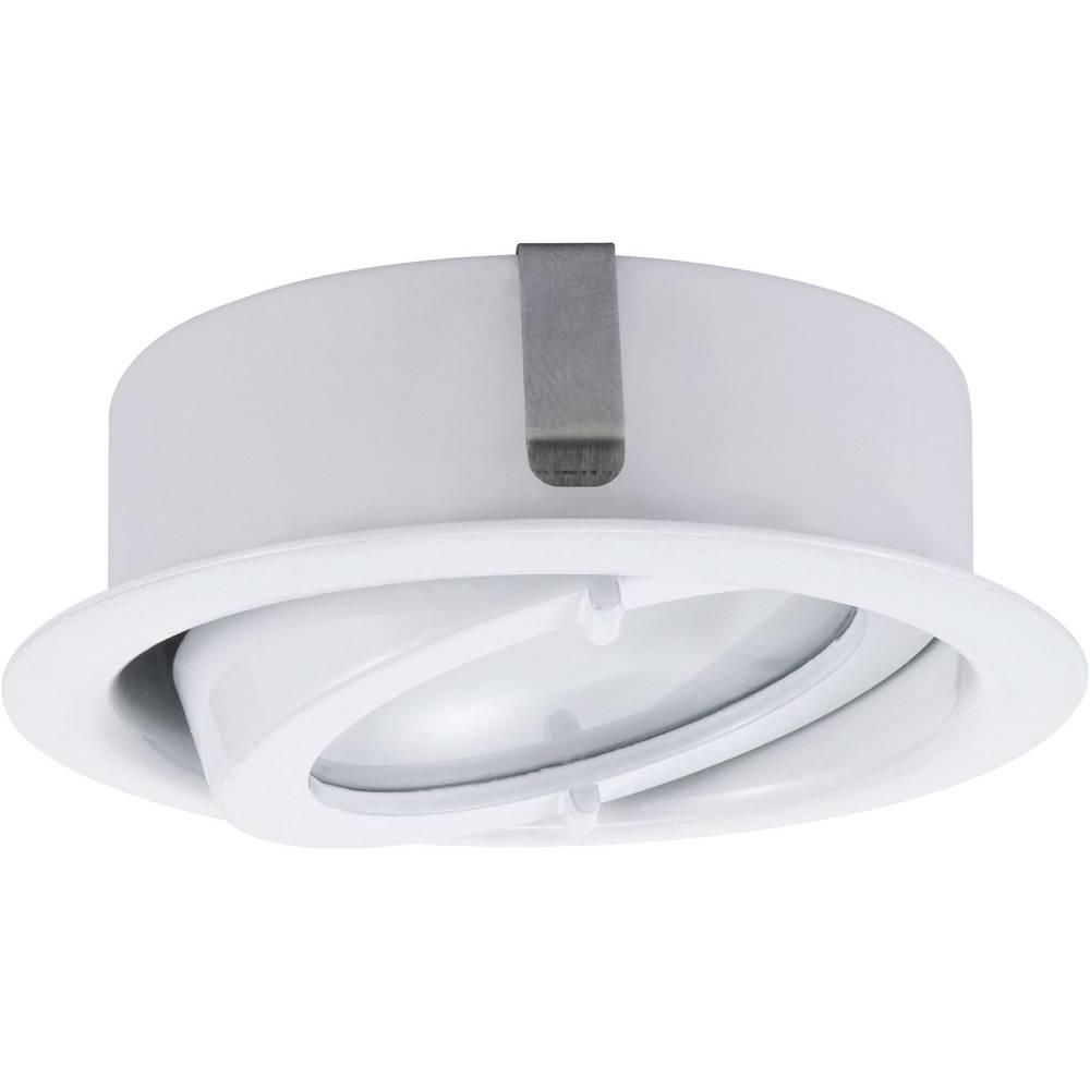 lampe pour montage sous un meuble g4 paulmann 93509 60 w blanc set de 3 sur le site internet. Black Bedroom Furniture Sets. Home Design Ideas