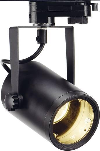 Hochvolt-Schienensystem-Leuchte 3phasig GU10 25 W Halogen, LED SLV Euro Schwarz