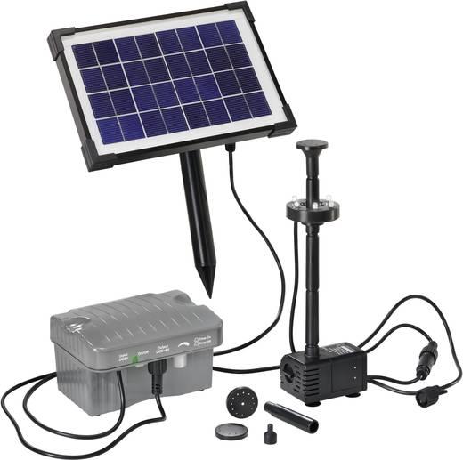 Esotec Palermo LED 101775 Solar-Pumpenset mit Beleuchtung, mit Akkuspeicher 330 l/h