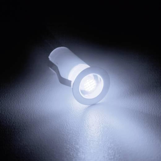 Brilliant Cosa 15 G03090/82 LED-Einbauleuchte 10er Set 1.5 W Neutral-Weiß Edelstahl