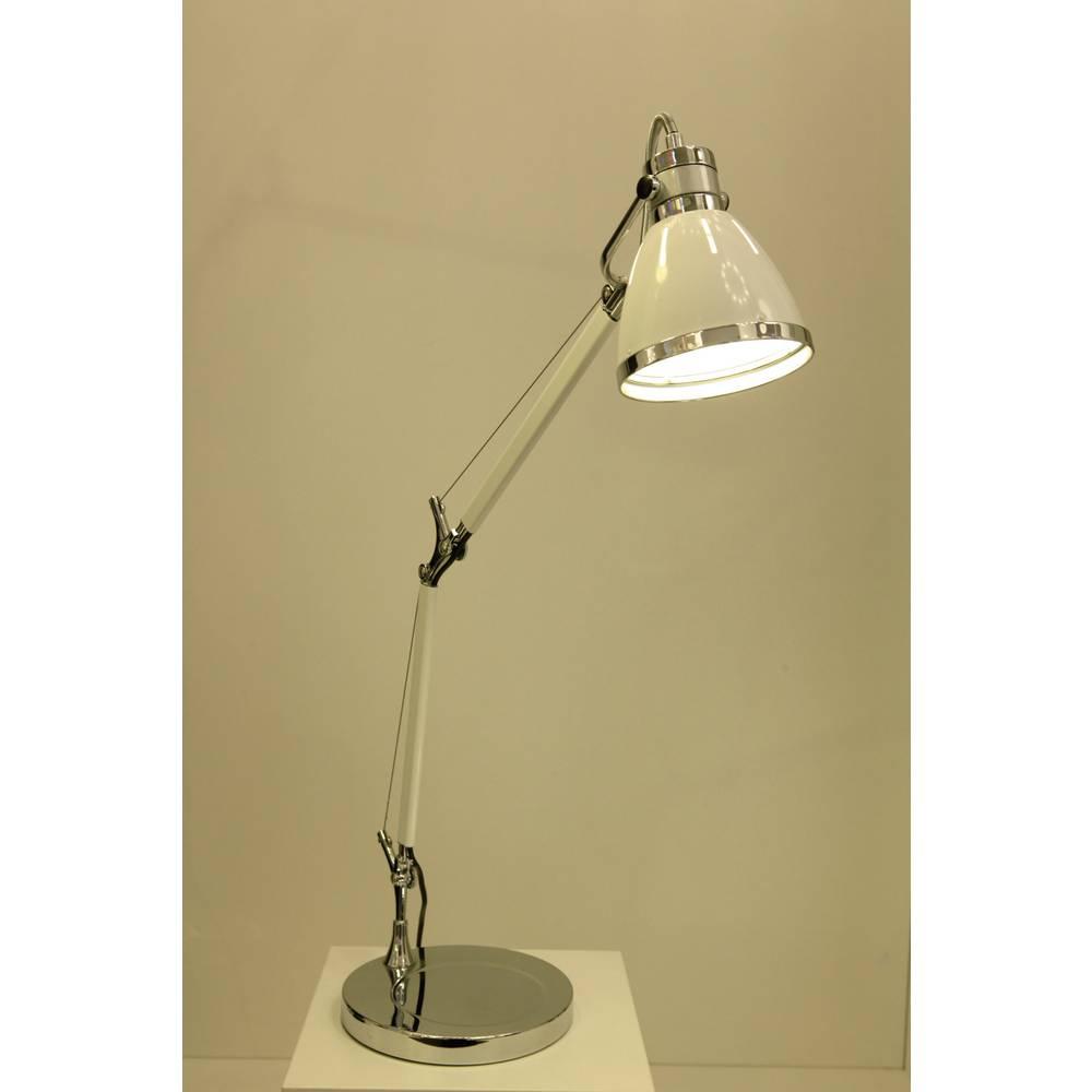Lampada da tavolo Lampadina Alogena E27 40 W Brilliant Octavia 92708/75 Bianco in vendita online ...