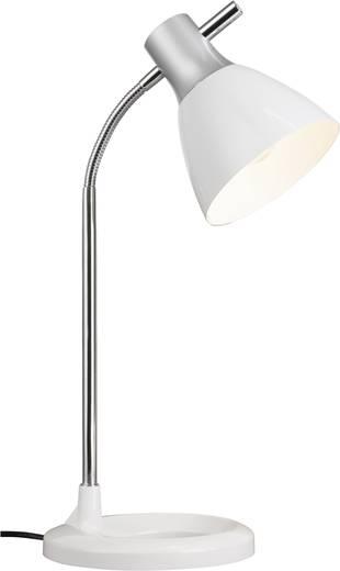 Tischlampe Energiesparlampe E27 40 W Brilliant Jan 92762/05 Weiß