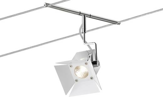 Seil-Komplettsystem GU4 140 W Halogen Paulmann Movie 94074 Chrom
