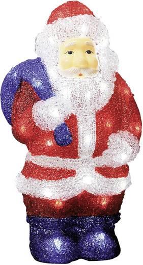 Acryl-Figur Weihnachtsmann Kalt-Weiß LED Konstsmide 6153-203 Multicolor