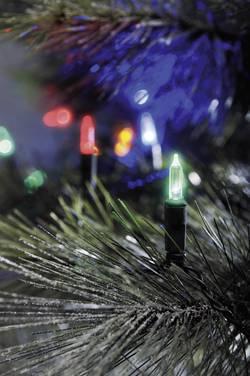 LED mini světlelná reťaz vonkajšie 6020-500, 230 V, farebná, 19.85 m