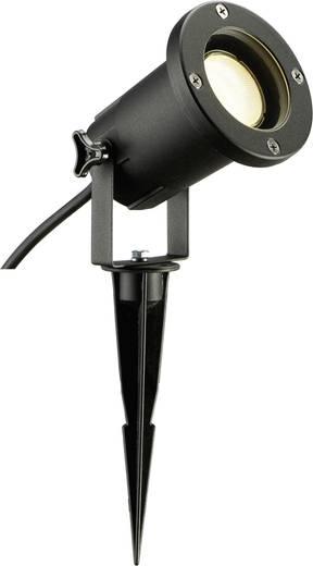Außenstrahler LED, Energiesparlampe 11 W GU10 Nautilus Spike Schwarz