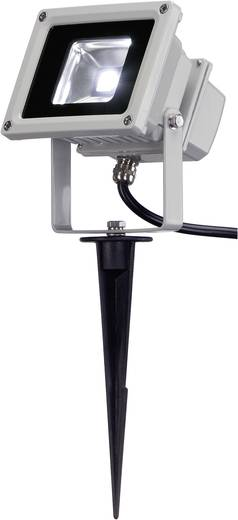 LED-Außenstrahler 10 W Neutral-Weiß 231101 Silber-Grau