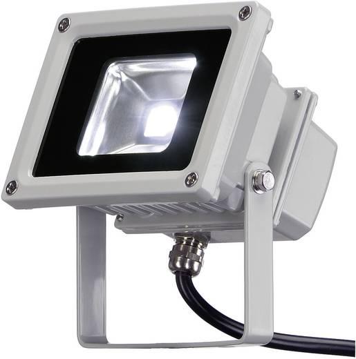 LED-Außenstrahler 10 W Warm-Weiß 231102 Silber-Grau
