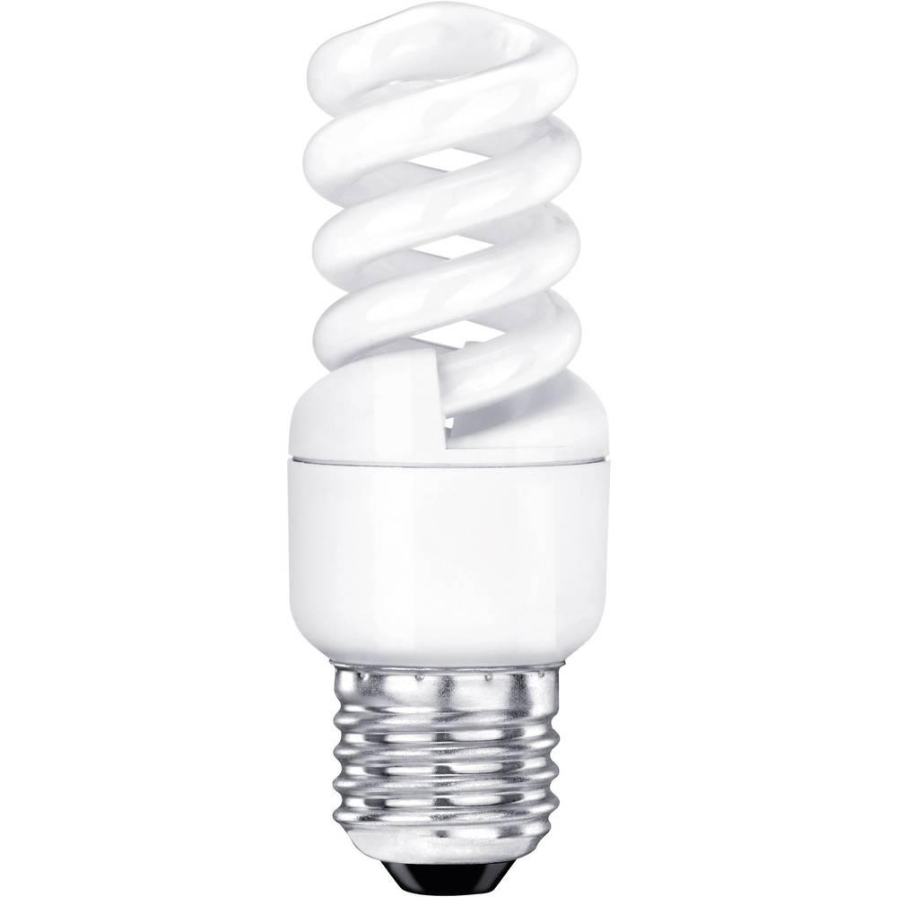 ampoule conomie d 39 nergie sygonix e27 11 w 47 w blanc chaud forme spiral e 1 pc s sur le. Black Bedroom Furniture Sets. Home Design Ideas