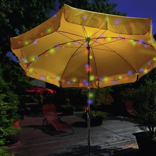solar lichterkette au en solarbetrieben 100 led bunt 12 m esotec 102103. Black Bedroom Furniture Sets. Home Design Ideas