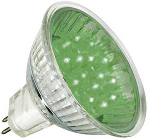 LED GU5.3 Reflektor 1 W Grün (Ø x L) 51 mm x 45 mm EEK: A+ Paulmann 1 St.