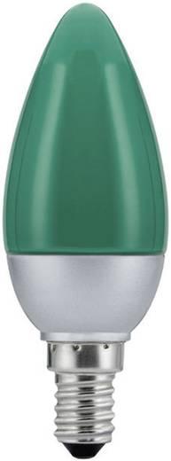 LED E14 Kerzenform 0.6 W Grün (Ø x L) 36 mm x 103 mm EEK: n.rel. Paulmann 1 St.
