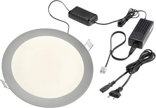 LED-Einbauleuchte 14 W Warm-Weiß Esotec 201214 Aluminium