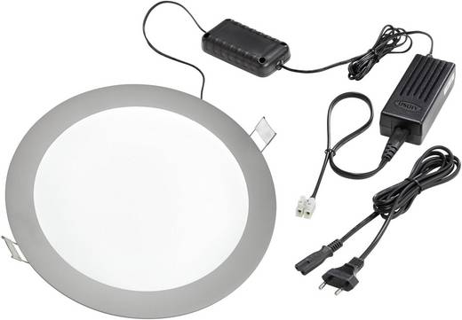 LED-Einbauleuchte 14 W Neutral-Weiß Esotec 201216 Aluminium