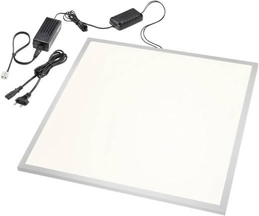 LED-Einbauleuchte 40 W Warm-Weiß Esotec 201265 Silber, Weiß